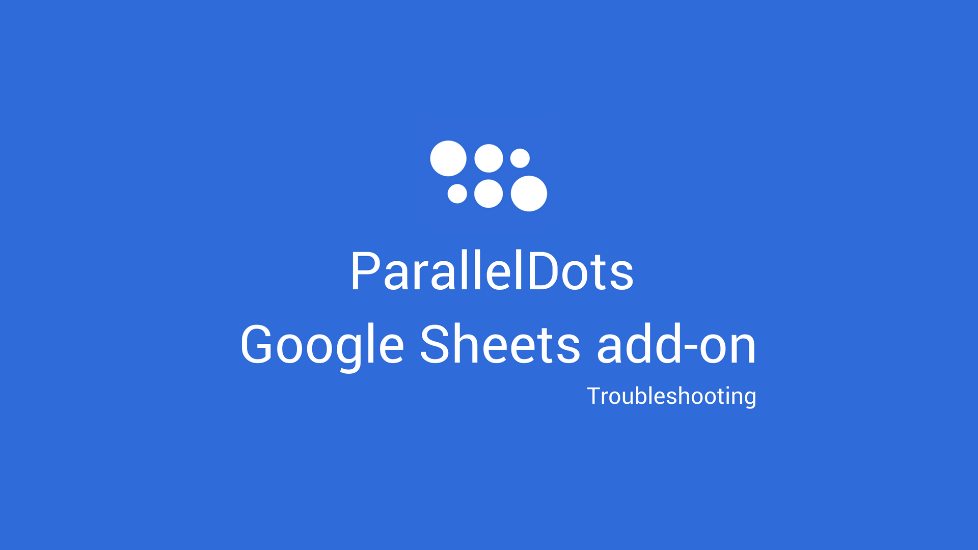 Google Sheets add-on